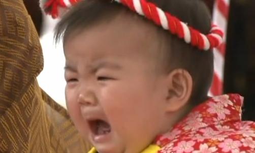llanto del bebé
