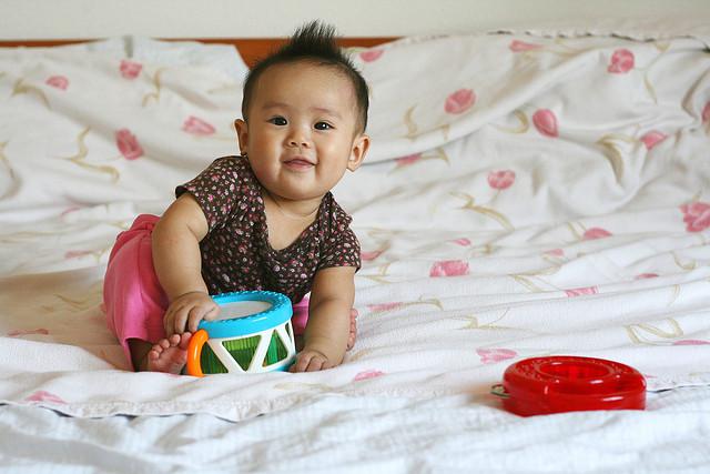 suelo para el bebe
