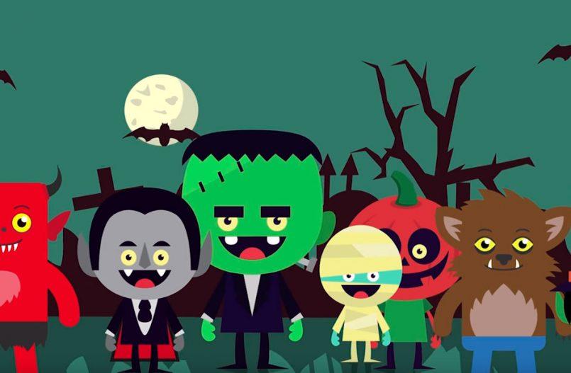 Vídeo del cuento de Halloween