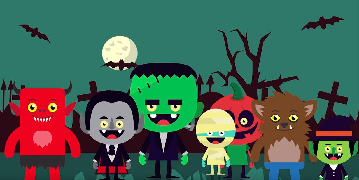 los mejores v deos de halloween para ni os halloween