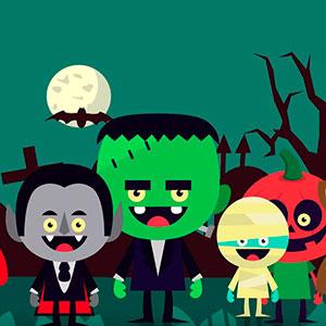 Contar cuento infantil de Halloween