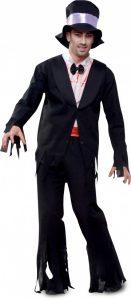 Disfraz de zombie hombre para Halloween