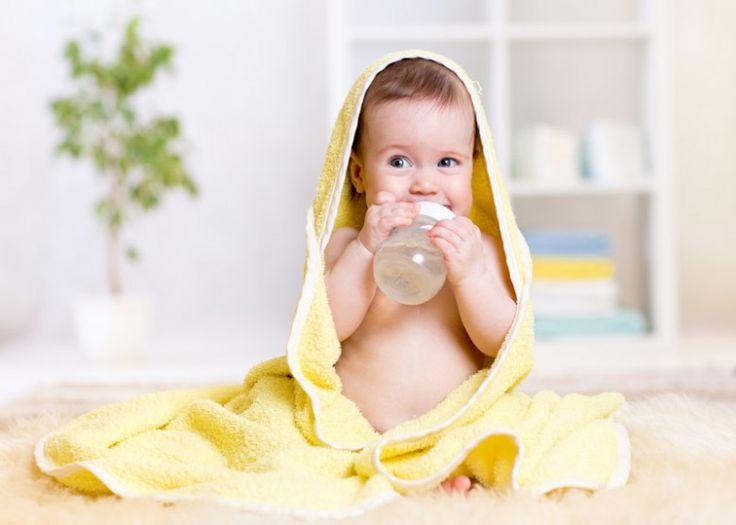 Importancia de tomar agua los niños
