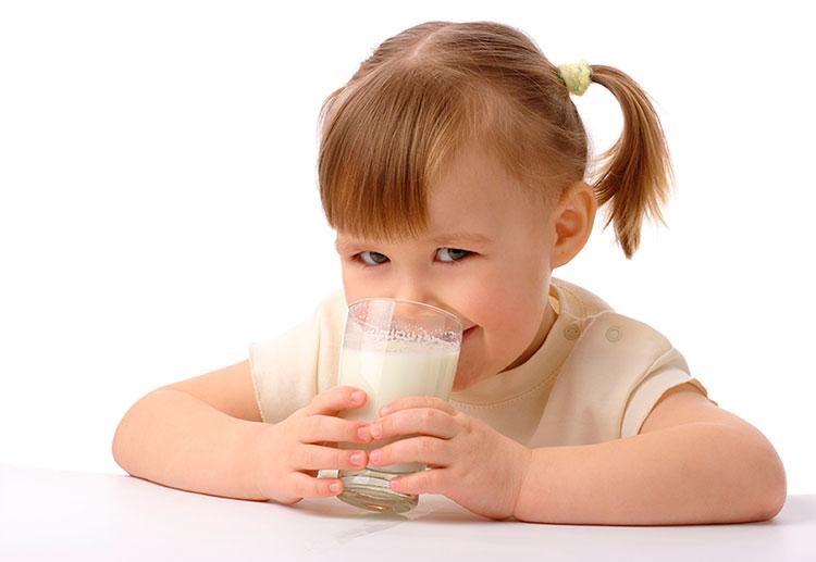 Leche en la alimentación infantil