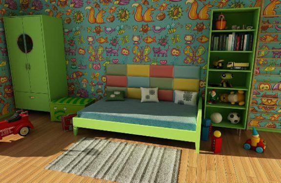 Escoge los muebles de la habitación infantil