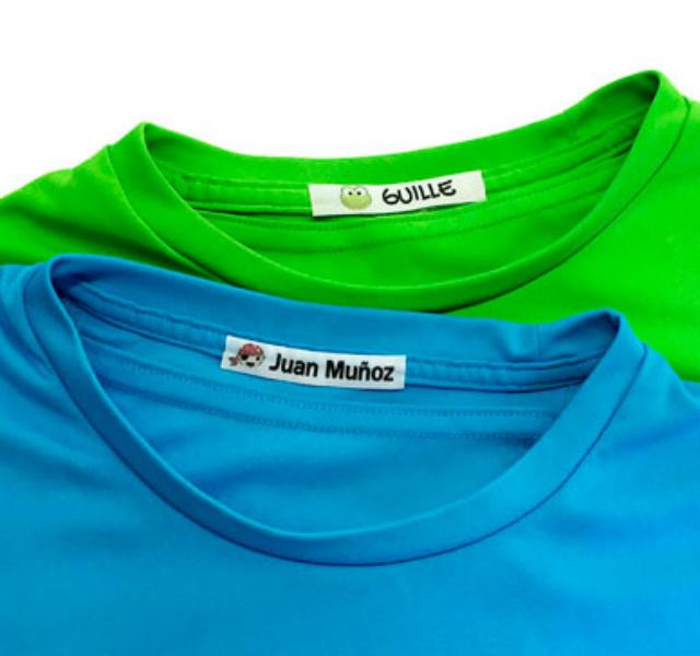 Personalizar etiquetas para la ropa