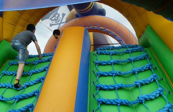 Castillos hinchables para fiestas