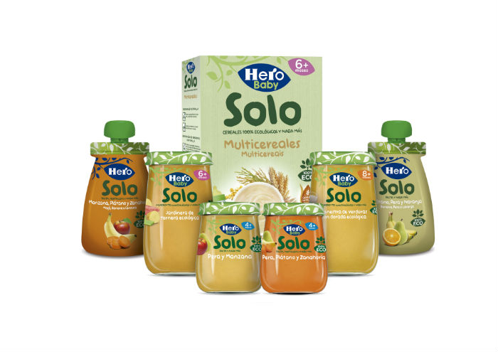 Ingredientes naturales en Hero Baby Solo